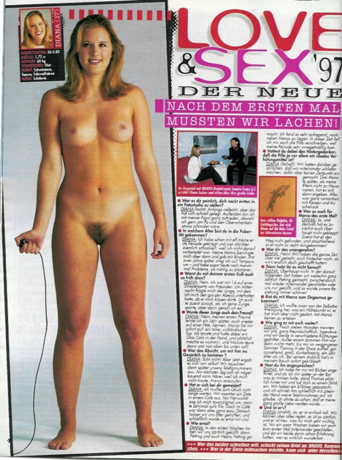 Nackt bravo girl Hard Pole