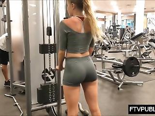 Fitness Modelle Ficken Creampie